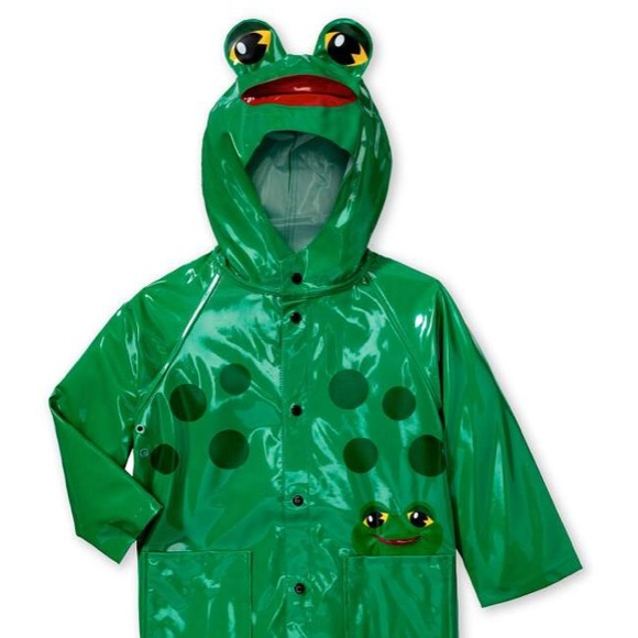 9c473fcee Western Chief Kids Frog Raincoat